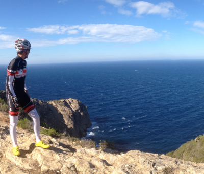 Winter riding in Ibiza