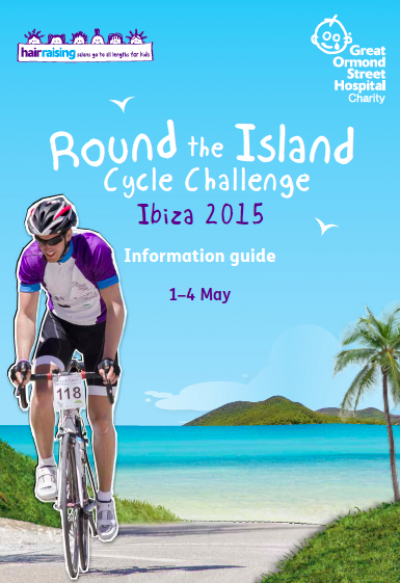 Great Ormond Street Hospital Round the Island Cycle Challenge 2015