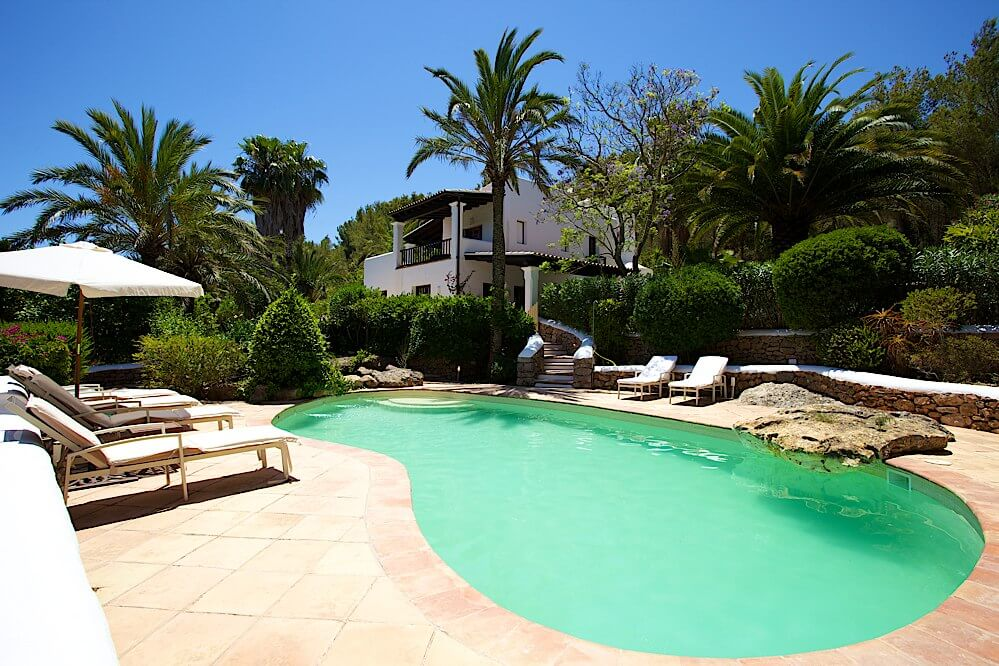 Ibiza Accommodation Can Blau Villa
