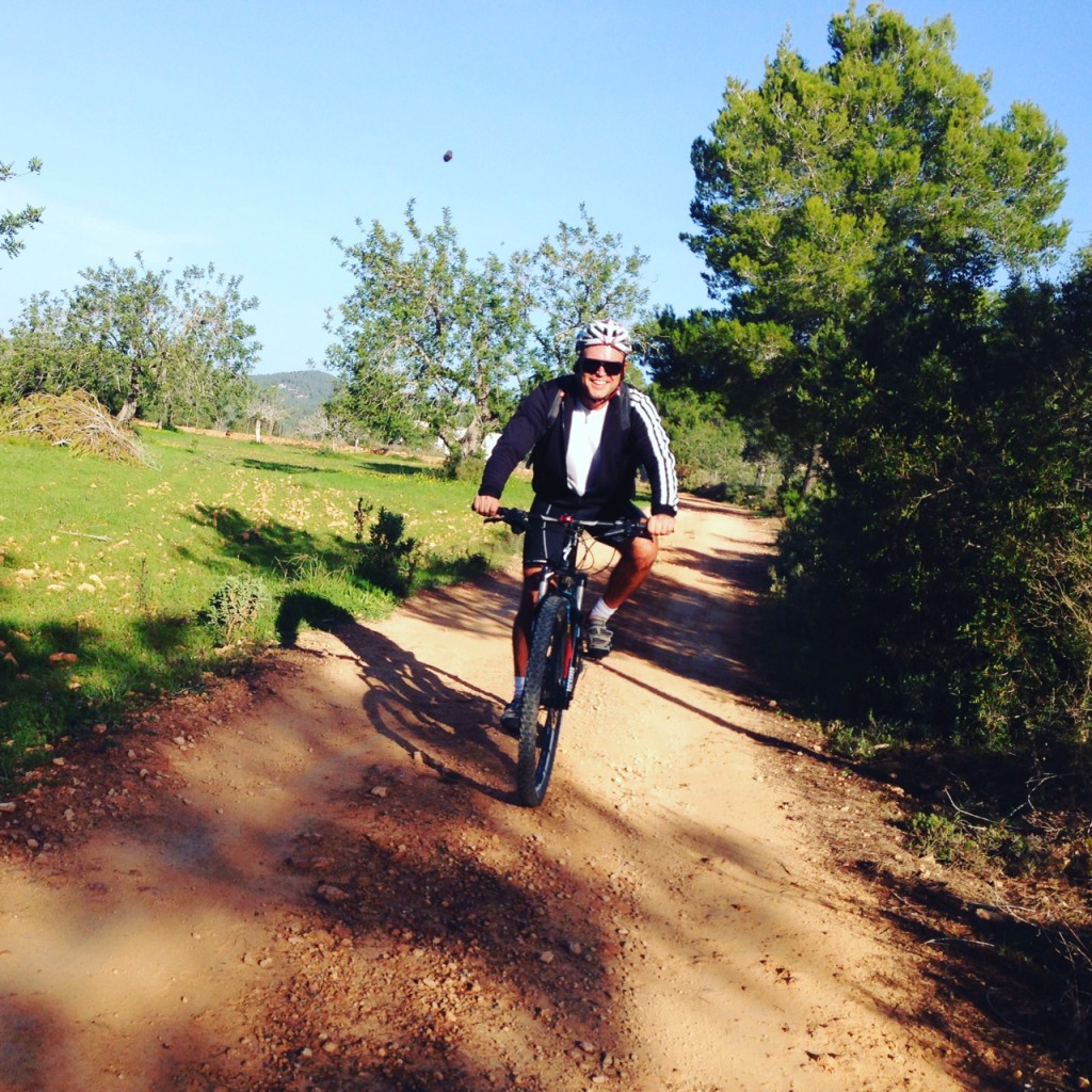 Winter is a time to try new things. Mr Sanchez discovers the mountain bike!