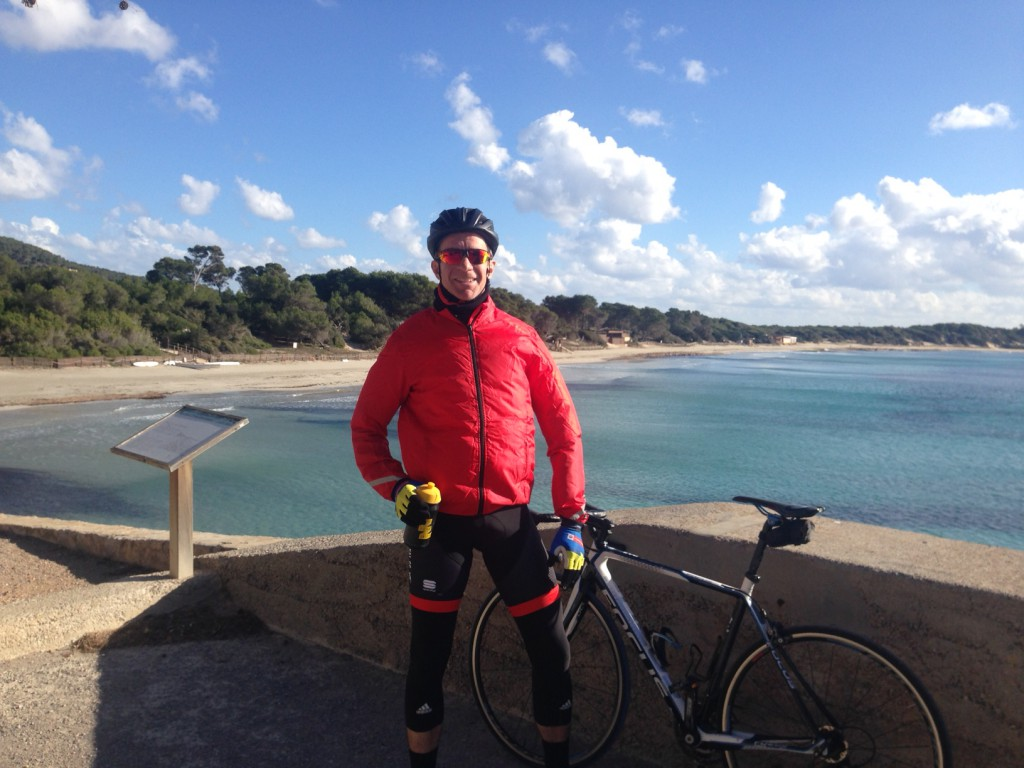 Tom has begun training for his Tour de France challenge this summer